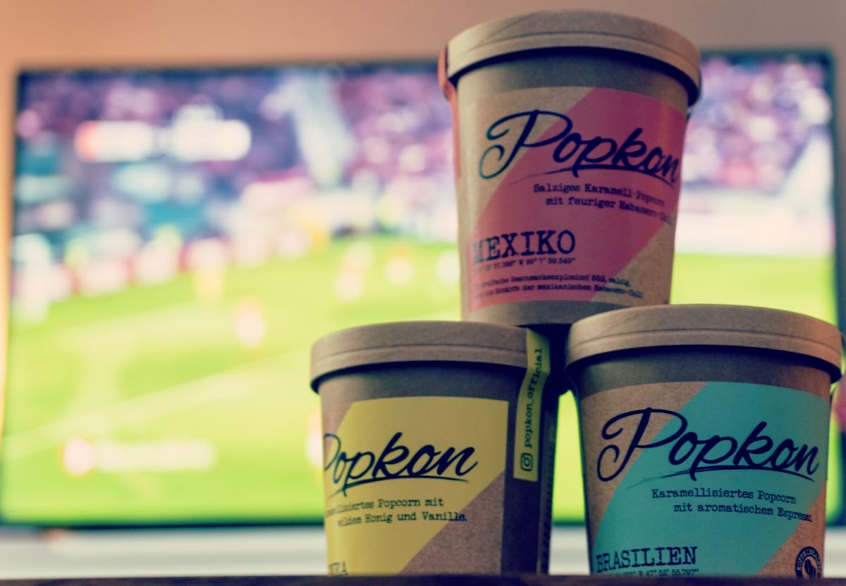 Popkon - Popcorn aus Hamburg